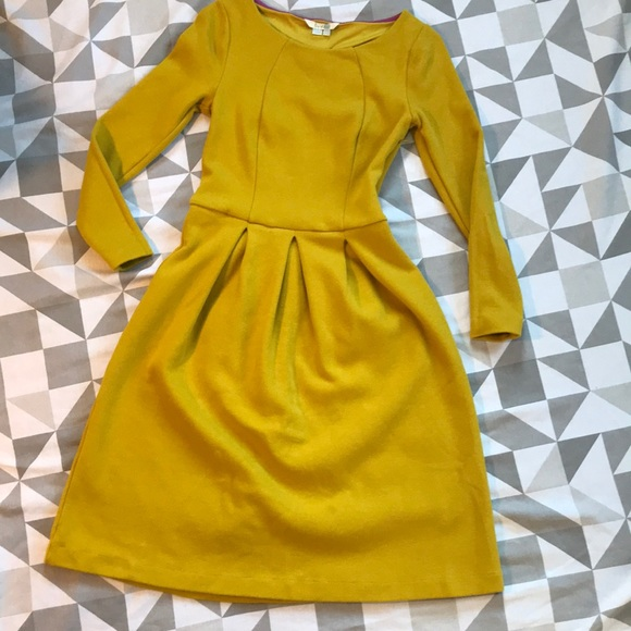 725c010faa9fa0 Boden Dresses & Skirts - Beautiful Boden mustard yellow dress